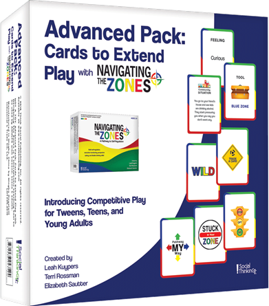 Navigating The Zones Advanced Extension Pack and Game Cards